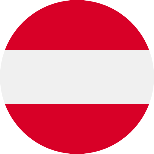 Picture of the Austrian flag.